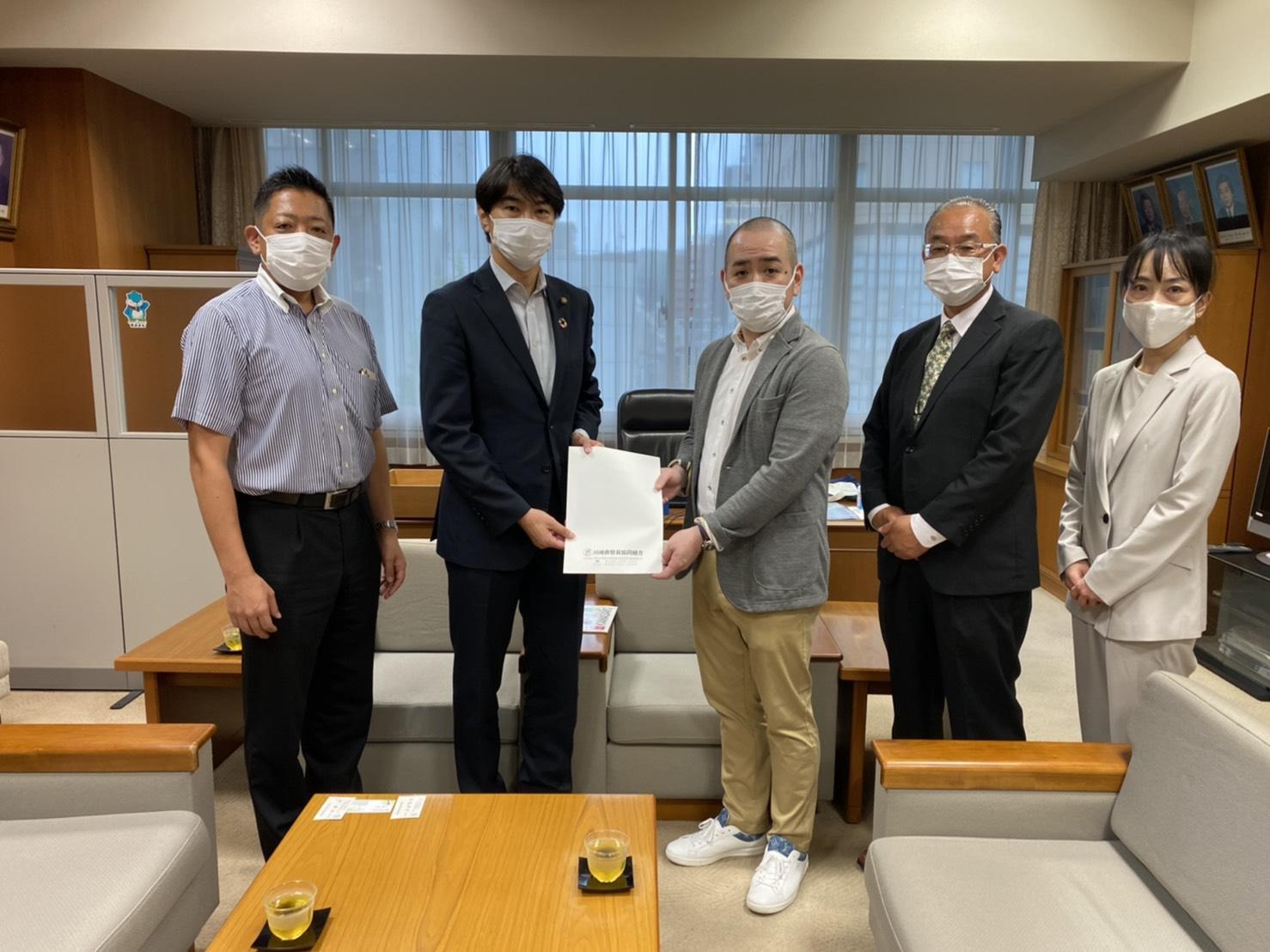 川崎市議会議長へ表敬訪問をしてまいりました